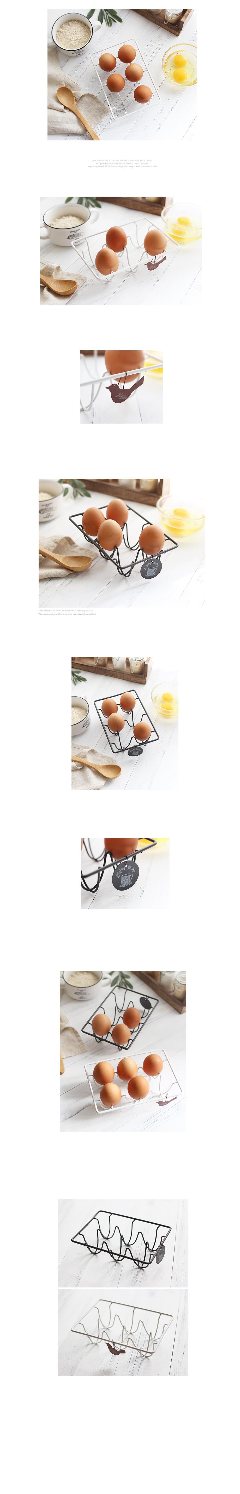 철제 에그랙 (2color) - 체리하우스, 5,400원, 주방소품, 쟁반/트레이